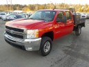 Used 2008 Chevrolet Silverado 3500HD Crew Cab 4WD Flat Deck for sale in Burnaby, BC