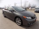 Used 2012 Honda Civic Si..NAVIGATION..SUNROOF..LOADED for sale in Milton, ON