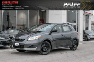 Used 2013 Toyota Matrix FWD 4A for sale in Orangeville, ON