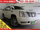 Used 2011 Cadillac Escalade | 8-PASSENGER| DVD| SUNROOF| UPGRADED WHEELS| for sale in Burlington, ON