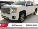 Used 2014 GMC Sierra 1500 Denali 4x4 Crew Cab for sale in Edmonton, AB