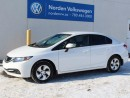 Used 2013 Honda Civic LX for sale in Edmonton, AB