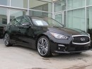 Used 2014 Infiniti Q50 SPORT TECH/LANE DEPARTURE/BLIND SPOT/AROUND VIEW MONITOR/HEATED WHEEL for sale in Edmonton, AB