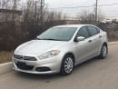 Used 2013 Dodge Dart SE **ACCIDENT FREE** F for sale in Brampton, ON