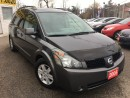Used 2005 Nissan Quest SL/CAPTAINSEATS/LOADED/ALLOYS for sale in Scarborough, ON