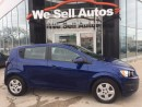 Used 2013 Chevrolet Sonic LS *BTOOTH *MP3 *REMOTE START for sale in Winnipeg, MB