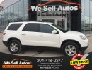 Used 2012 GMC Acadia SLE *3RD ROW SEATING *SUNROOF *REAR CAM for sale in Winnipeg, MB