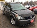 Used 2005 Nissan Quest SL/CAPTAINSEATS/LOADED/ALLOYS for sale in Pickering, ON