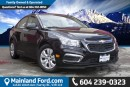 Used 2015 Chevrolet Cruze 1LS NO ACCIDENTS, ONE OWNER for sale in Surrey, BC