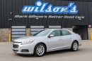 Used 2015 Chevrolet Malibu LT LEATHER! REAR CAMERA! BLUETOOTH! HEATED SEATS!  POWER PACKAGE! REMOTE START! TOUCHSCREEN! ALLOYS for sale in Guelph, ON