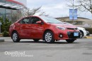 Used 2014 Toyota Corolla Leather Interior, Heated Front Seats, Back Up Cam, Sunroof for sale in Richmond, BC