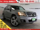 Used 2010 Mercedes-Benz GLK-Class GLK350 4MATIC| LEATHER| DUAL SUNROOF| NAVI| for sale in Burlington, ON