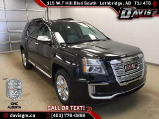 New 2017 GMC Terrain Denali-Heated leather, Navigation, Sunroof, remote Start for sale in Lethbridge, AB