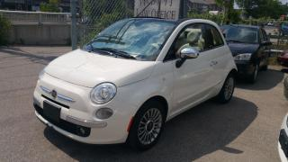 Used 2012 Fiat 500 Lounge (Convertible) for sale in Scarborough, ON