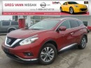 Used 2015 Nissan Murano SL AWD w/all leather,NAV,climate control,heated seats for sale in Cambridge, ON