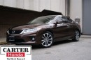 Used 2013 Honda Accord EX-L-NAVI V6 + 6 SPEED MANUAL + NO ACCIDENTS  + CE for sale in Vancouver, BC