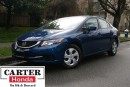Used 2014 Honda Civic LX + LOW KMS + LOCAL + CERTIFIED 7YRS/160000KMS! for sale in Vancouver, BC