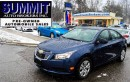 Used 2014 Chevrolet Cruze 1LS | CAR-PROOF CLEAN | POWER WINDOWS, LOCKS & MIR for sale in Richmond Hill, ON