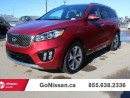 Used 2016 Kia Sorento 3.3L SX+ 4dr All-wheel Drive for sale in Edmonton, AB