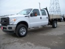 Used 2015 Ford F-350 XL 9' Flatbed Crew Cab 4x4 for sale in Stratford, ON