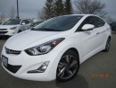 Used 2015 Hyundai Elantra Limited/Ultimate-Navigation-Sunroof-Leather for sale in Mississauga, ON