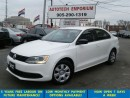 Used 2012 Volkswagen Jetta White All Power/Htd Sts&ABS*$35/wkly for sale in Mississauga, ON