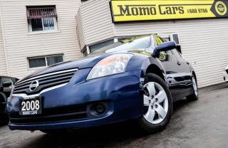 Used 2008 Nissan Altima 2.5 S! CVT! Cruise+AuxIn! ONLY $113/bi-weekly! for sale in St Catharines, ON
