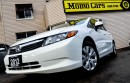 Used 2012 Honda Civic LX! MANUAL! Cruise+AuxIn! ONLY $106/bi-weekly! for sale in St Catharines, ON