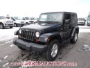 Used 2009 Jeep WRANGLER X 2D UTILITY 4WD 3.8L for sale in Calgary, AB