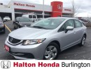 Used 2015 Honda Civic Sedan LX | REARVIEW CAMERA | BLUETOOTH | HEATED SEATS for sale in Burlington, ON