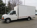 Used 2012 Chevrolet Express 3500 Gas 14 ft cube van for sale in Richmond Hill, ON