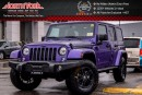 New 2017 Jeep Wrangler Unlimited New Car Sahara 4x4|Dual Top,LED Lights Pkg|Nav|Alpine|18