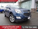 Used 2016 Chevrolet Equinox LT ACCIDENT FREE w/ REAR-VIEW CAMERA & NAVIGATION for sale in Surrey, BC