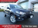 Used 2016 Volkswagen Tiguan Comfortline ACCIDENT FREE w/ AWD, REAR-VIEW CAMERA & HEATED FRONT SEATS for sale in Surrey, BC