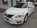 Used 2013 Nissan Altima LOADED SL EDITION 5 PASSENGER 2.5L - DOHC ENGINE.. LEATHER.. HEATED SEATS.. POWER SUNROOF.. BOSE AUDIO.. BACK-UP CAMERA.. for sale in Bradford, ON
