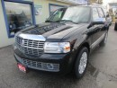 Used 2013 Lincoln Navigator LOADED 4X4 7 PASSENGER 5.4L - V8.. CAPTAINS.. 3RD ROW.. LEATHER.. HEATED/AC SEATS.. NAVIGATION.. DVD PLAYER.. SUNROOF.. BACK-UP CAMERA.. for sale in Bradford, ON