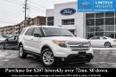 Used 2013 Ford Explorer XLT - LEATHER - BLUETOOTH - REAR VIEW CAMERA - POWER LIFTGATE - VOICE ACTIVATED NAV for sale in Ottawa, ON