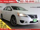 Used 2014 Nissan Sentra 1.8 SR| BACK UP CAMERA| NAVI| SUNROOF| for sale in Burlington, ON