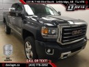 New 2017 GMC Sierra 2500 HD SLT-Heated Leather bucket Seat, Android/Apple carplay, 6.0L V8 for sale in Lethbridge, AB