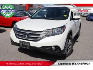 Used 2014 Honda CR-V EX   Automatic   Power Moonroof for sale in Whitby, ON