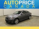 Used 2013 Lexus IS 250 MOONROOF LEATHER AWD for sale in Mississauga, ON