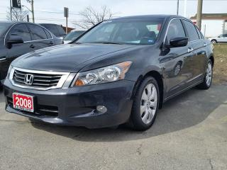 Used 2008 Honda Accord EX-L/NAV/LEATHER/SUNROOF for sale in Brampton, ON