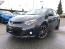 Used 2014 Toyota Corolla S,Nav,leather,one owner,local for sale in Surrey, BC