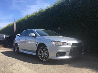 Used 2015 Mitsubishi Lancer Evolution GSR AWD + 5 SPEED MANUAL for sale in Surrey, BC