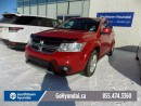 Used 2014 Dodge Journey LEATHER, BLUETOOTH, AWD for sale in Edmonton, AB