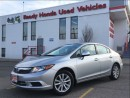 Used 2012 Honda Civic EX - Sunroof - Bluetooth - Alloys for sale in Mississauga, ON