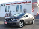 Used 2014 Honda Civic Sedan LX | 1.99% Financing for sale in Mississauga, ON