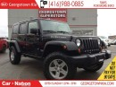 Used 2010 Jeep Wrangler Unlimited Rubicon | NAVI | ALLOY WHEELS | STICK SHIFT | V6 | for sale in Georgetown, ON