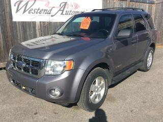 Used 2008 Ford Escape XLT 4X4 for sale in Stittsville, ON
