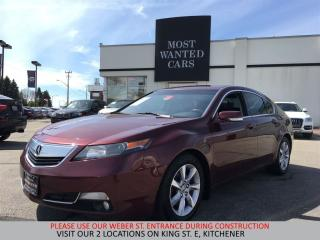 Used 2013 Acura TL 3.5L | 4 NEW TIRES | NO ACCIDENTS | LEATHER for sale in Kitchener, ON